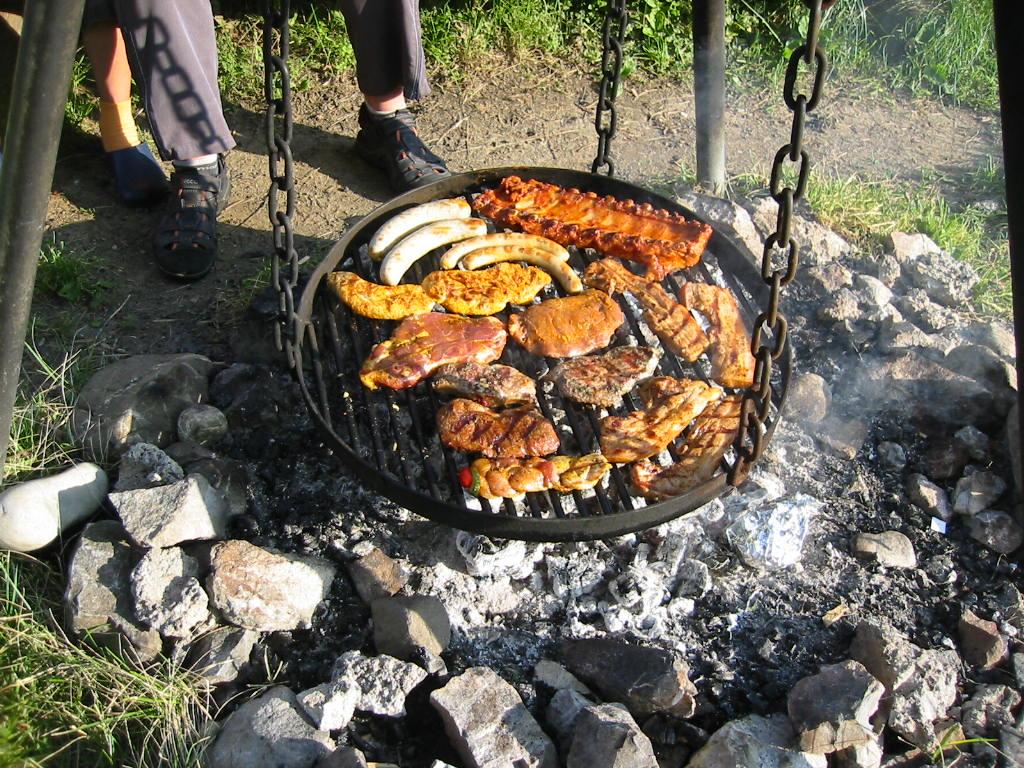 Hutte 012 for Kochen 4 personen