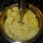 so wird aus der Kartoffel eine Stampfkartoffel