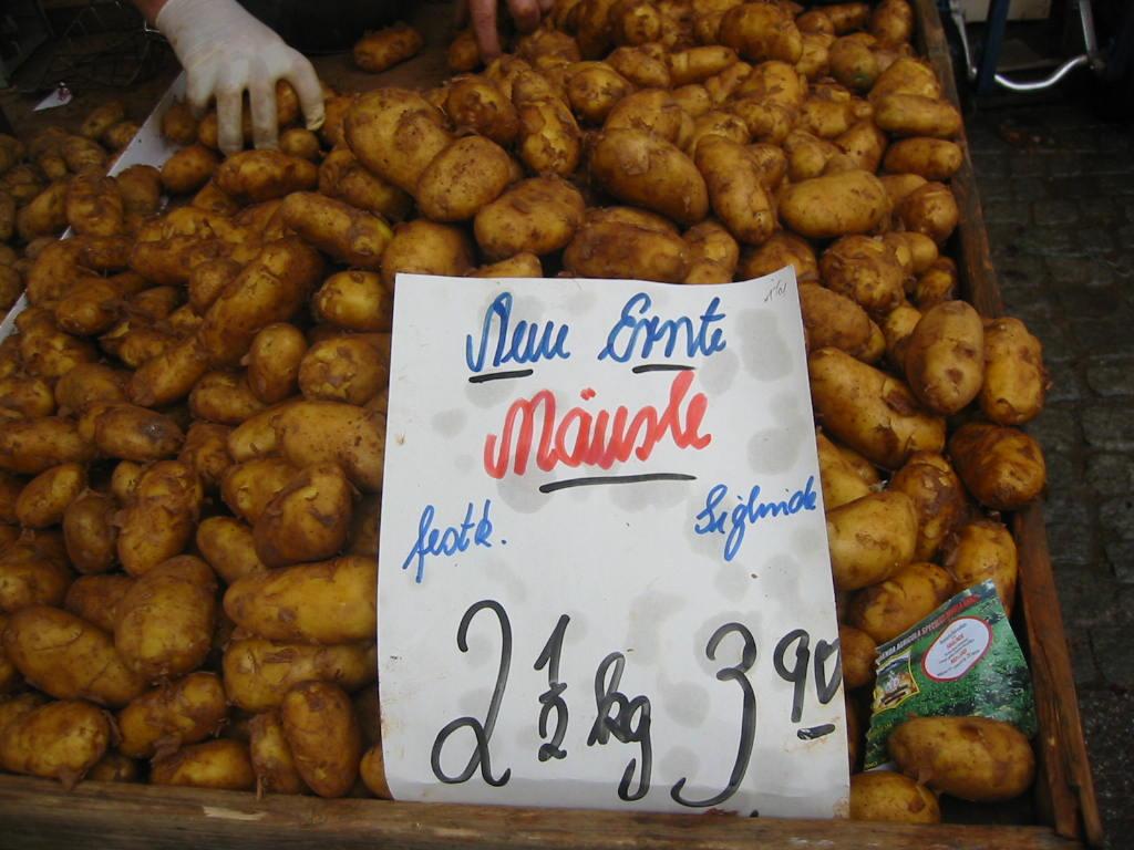 die richtigen Kartoffeln für einen guten, schwäbischen Kartoffelsalat