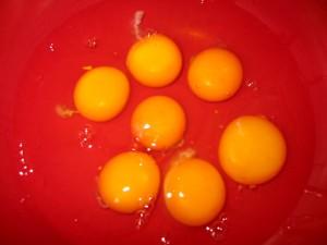 so sehen frische Eier aus