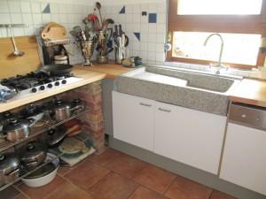 küche spülstein schüttstein terrazzo | kochen einfach erklärt - Spülstein Küche